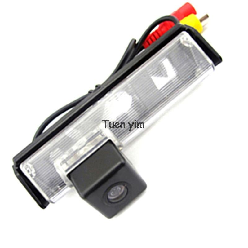 צבע CCD HD רכב אחורי מצלמה מצלמה צג חניה - אלקטרוניקה לרכב