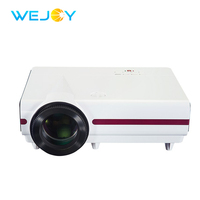 Wejoy LCD Projector Factory JX 900 300 ANSI Lumens Multimedia Video Digital 4k Projector Home Theater Cinema LED Projetor Beamer