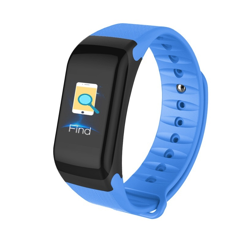 4.0 Smartwatch F1P Sport Fitness Tracker Smart Bracelet IP67 Sleep Monitoring Suitable For  & Android Phones