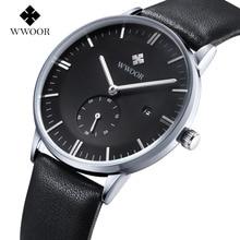 2016 Marca De Lujo Ultra delgada Fecha de Cuarzo de Cuero Genuino Reloj de Oro Rosa Casual Deportes Relojes Hombres Reloj de pulsera Relogio masculino