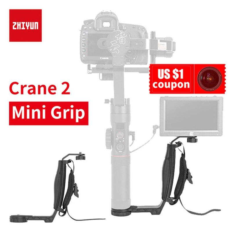 Zhiyun Grue 2 cardan L support Mini Holder Poignée Grip pour LED Lumière/Microphone/Moniteur pour FEIYU A1000 a2000 RONIN S Lisse 4
