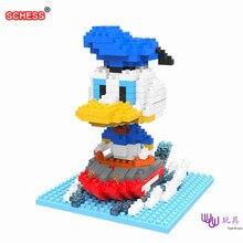 SC: Donald snow car 1033 Diamond Micro Nano Building Blocks Action Figure boy & girl gifts