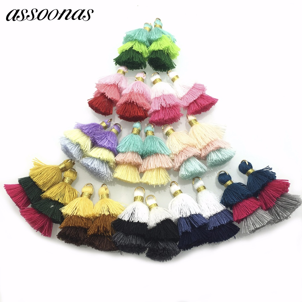 assoonas L81/jewelry accessories/accessory parts/jewelry findings/tassel/diy/Mini Cotton tassel/embellishments/diy accessories