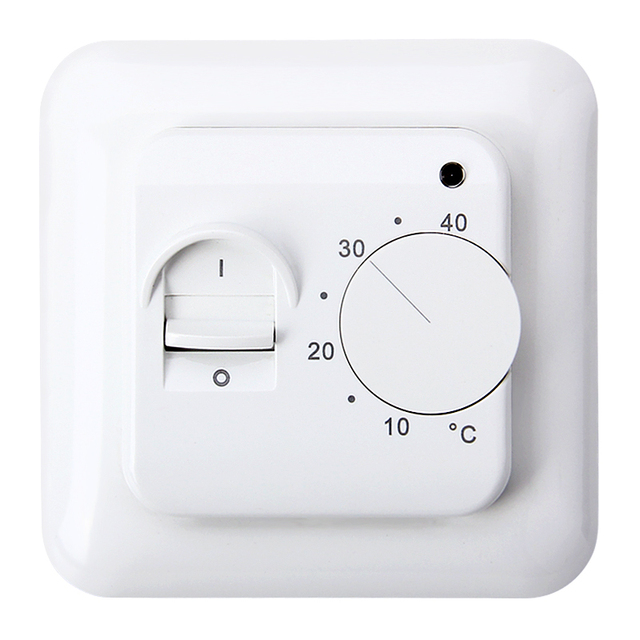 Thermostat Regulator 5~40C Room Warm Temperature Controller 230V LED 16A Universal Electronic Underfloor Heating Temperature