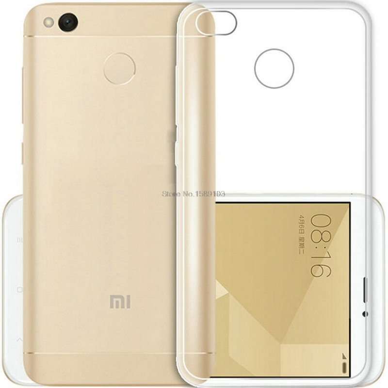 half off 95ab0 22feb Clear Transparent TPU Gel Rubber Soft Silicone Case For Xiaomi Redmi 4X  Cover Ultra Thin Protective Skin Cover Coque Funda-in Fitted Cases from ...