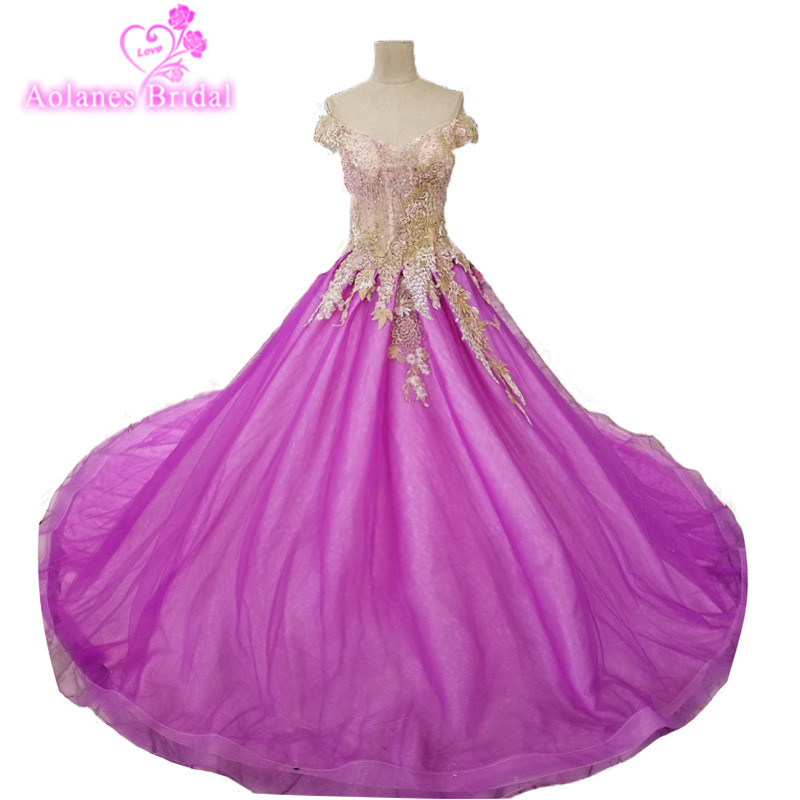 Buy purple gala dress and get free shipping on AliExpress.com