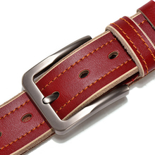 Classic Pin Buckle Genuine Leather belt For Men