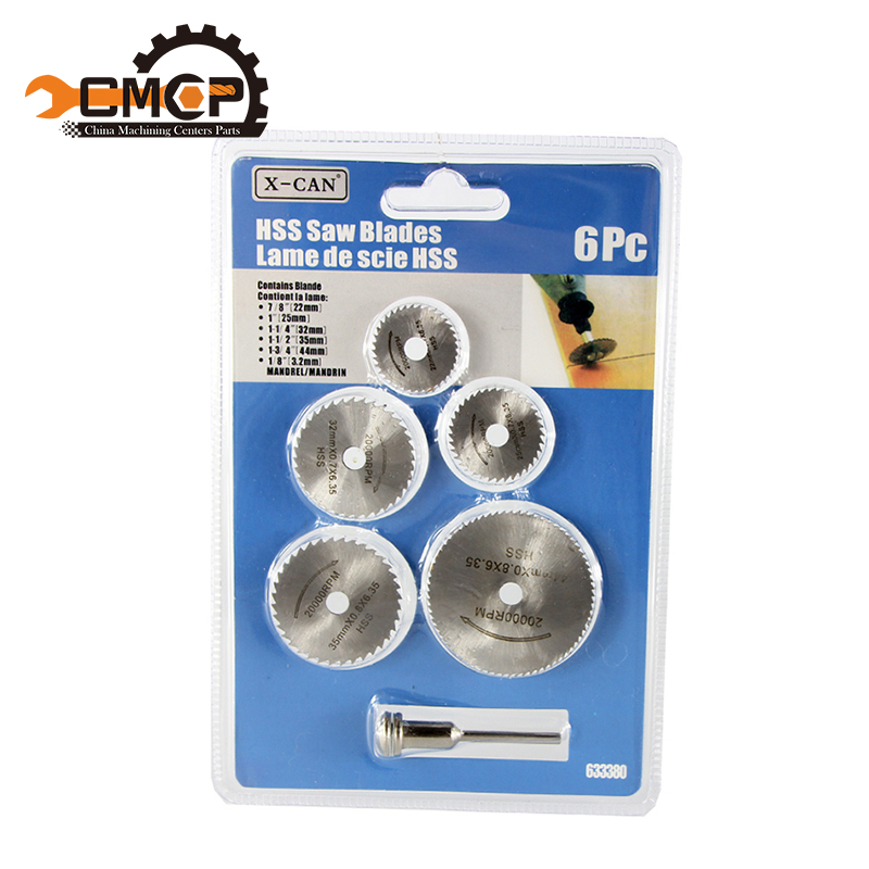 Free Shipping 6pc HSS Mini Circular Saw Blades Cutting Disc Dremel Accessories for Wood Aluminum Cutting 12 72 teeth 300mm carbide tipped saw blade with silencer holes for cutting melamine faced chipboard free shipping g teeth