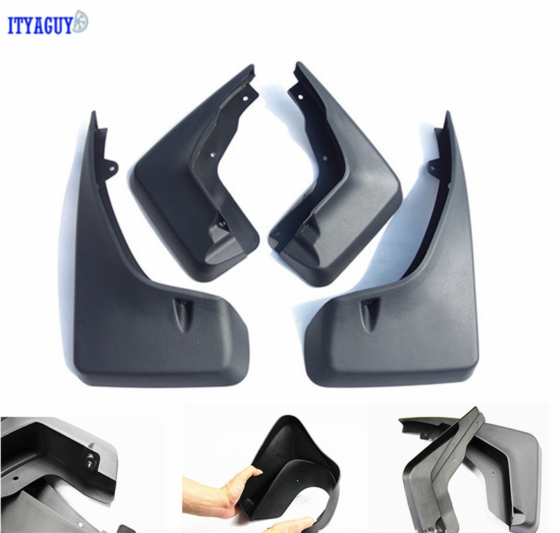 Fit For Freelander 2 (Ordinary version) Mudguards Splash guards fender flare Mud Flap mudflaps Mudguard 4PCS Car free shipping fit for bmw x3 f25 11 15 molded mudflaps mud flap splash guard mudguards fender free shipping lzh