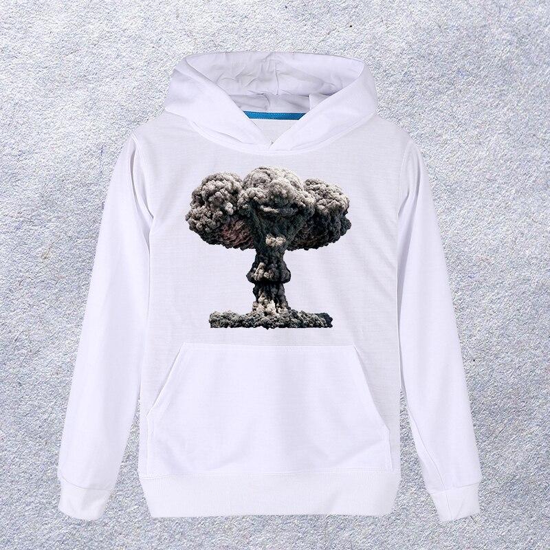 EXPERTEE New arrived 3D Hoodies Women/Men Mushroom cloud Cruise Hooded Sweatshirt Pullover Tops #122