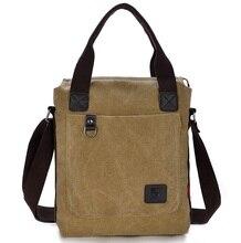 2016 new crossbody bags men's casual canvas shoulder bag briefcase 1051