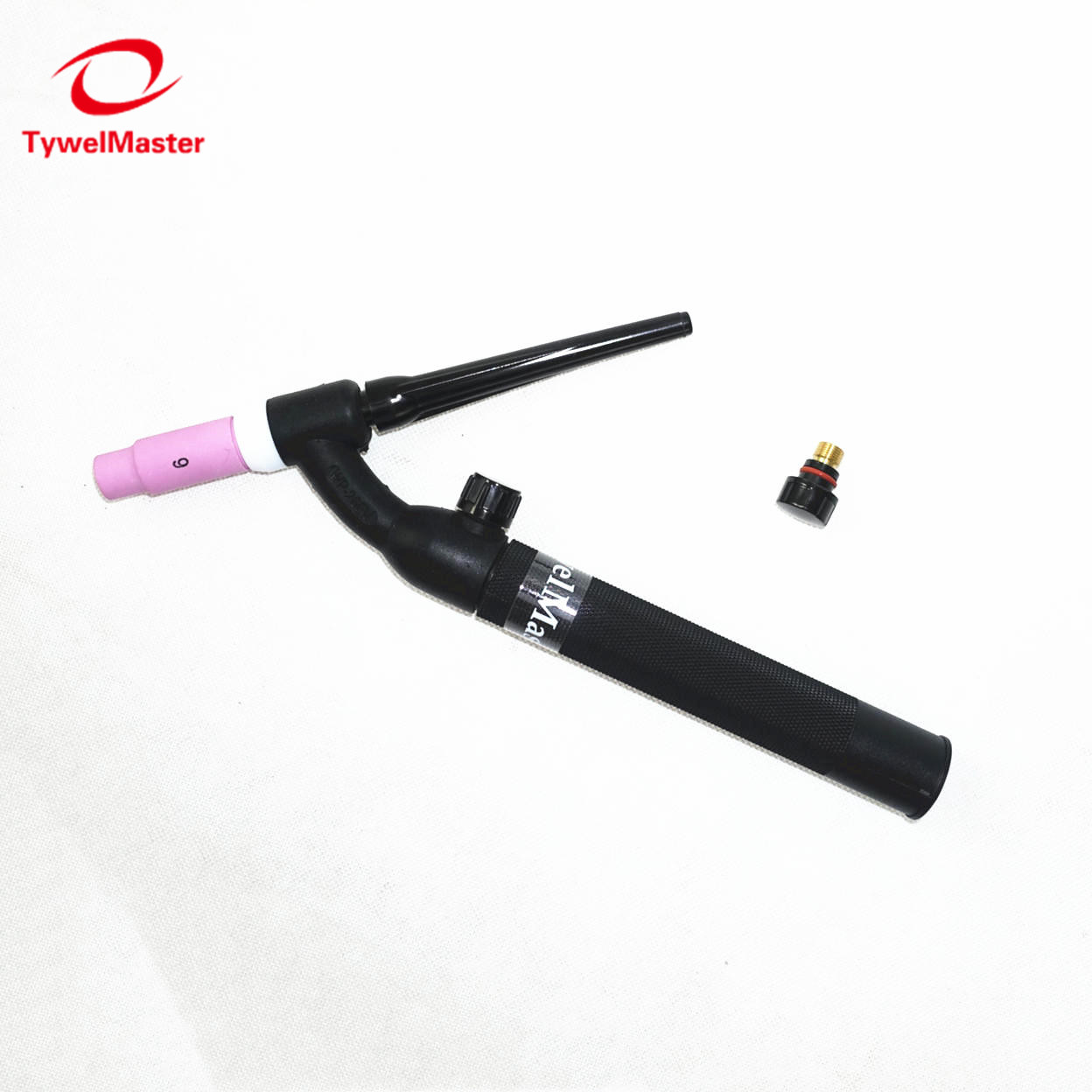 WP26-FV TIG Torch GTAW Gas Tungsten Arc Welding Torch WP26 Argon Air Cooled WP-26 Flexible Neck Gas Valve TIG Welding Torch