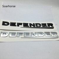 Soarhorse For Land Range Rover Defender Letters Rear Refit Emblem Nameplate Badge Logo Car Styling