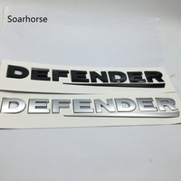 Soarhorse For Land Range Rover Defender Letters Rear Refit Emblem Nameplate Badge Logo Car Styling