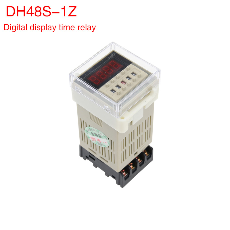 все цены на Dh48s-1z digital display time relay ac AC380/220/ dc24/12v time controller switch.