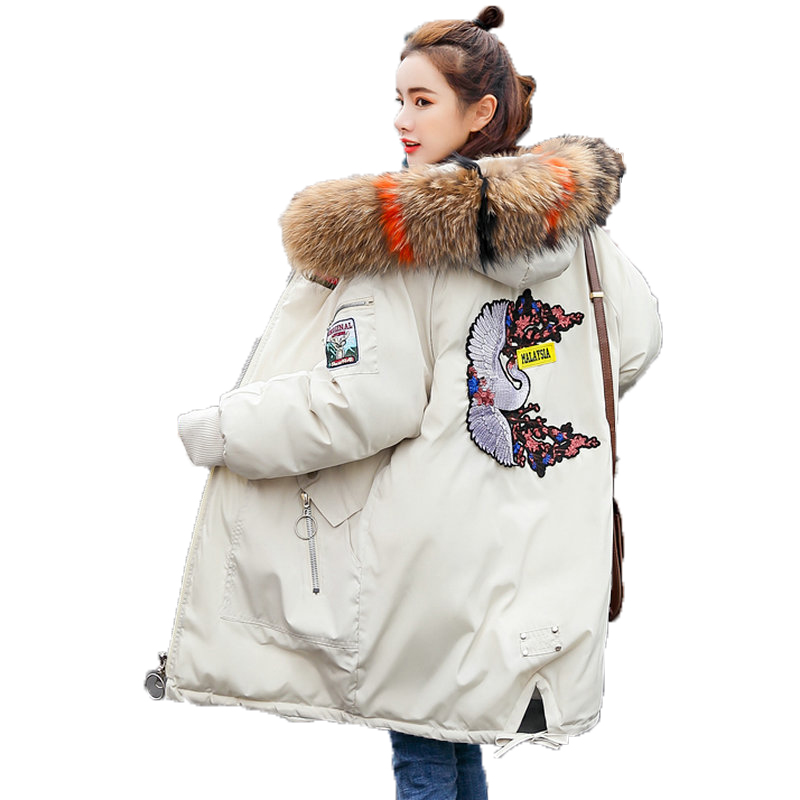 black Invierno Puff De Parkas Con pink Caliente gray Puffer army Wadded  Parkas Hooded Capucha Green ... 8b0608f6e421