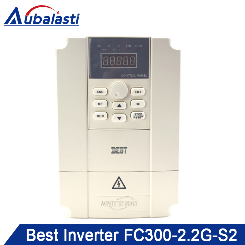 Best <font><b>Inverter</b></font> 0.75KW 1.5KW <font><b>2.2KW</b></font> 3KW 4KW 5.5KW 7.5KW 11KW Input 2Phase AC220V Use for CNC <font><b>Spindle</b></font> image