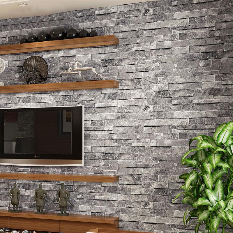 online kaufen großhandel tapete stein design aus china tapete ... - Stein Design Wohnzimmer