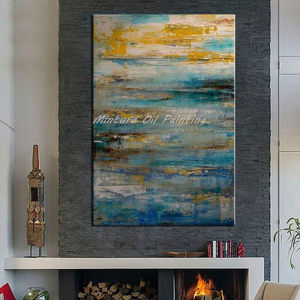 Mintura Art Ручная роспись абстрактная картина маслом для гостиной украшение стены Современная Настенная картина холст картины без рамки