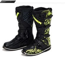 Hongkong Tiger Racing size 6 13 Waterproof Men SN202 microfiber leather MId calf botte moto Dirt