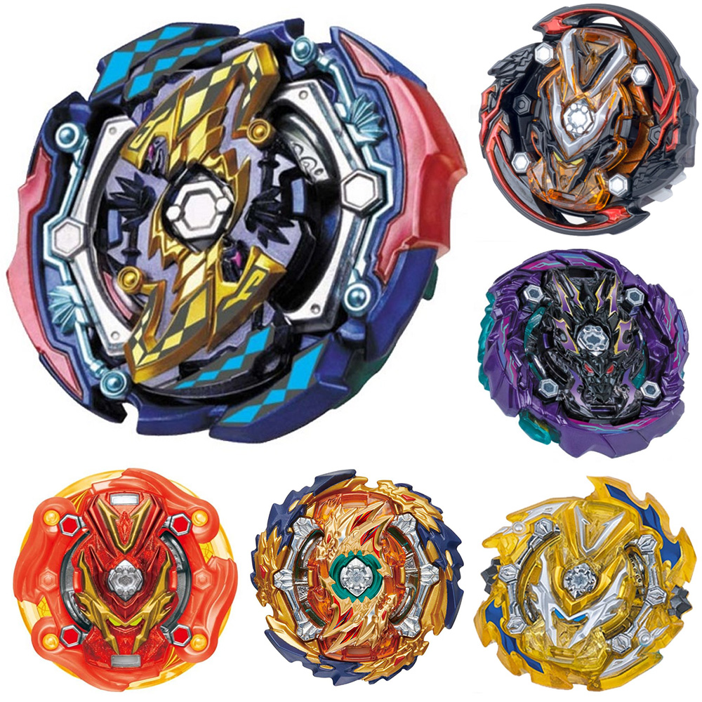 Tops Burst Toys B-142 Launchers Beyblade Metal Toupie Avec Lanceur God Spinning Top Bey Blade Blades Burst Toy 499730
