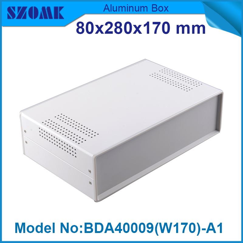 1 piece cabinet electric custom plastic enclosure  electronic equipment 79x279x170 mm household product electric enclosure plastic mould factory