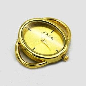 Image 5 - Shsby cá tính Tự Làm hình bầu dục Vàng bạc Xem tiêu đề vòng tròn dây bảng lõi watchband phụ kiện Đồng Hồ bán buôn