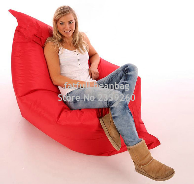 Xl Bean Bag Chair Pub Style Adirondack Chairs Cover Only No Filler X L Beanbag Red Water Resistant Bags For Indoor And Outdoor Use Make Great Garden Seats