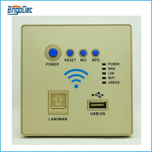 ФОТО High quality Wifi Router with 3.0G/USB/LAN/WPS wall Wifi Router for Small Office, smart home,Hotel,free shipping