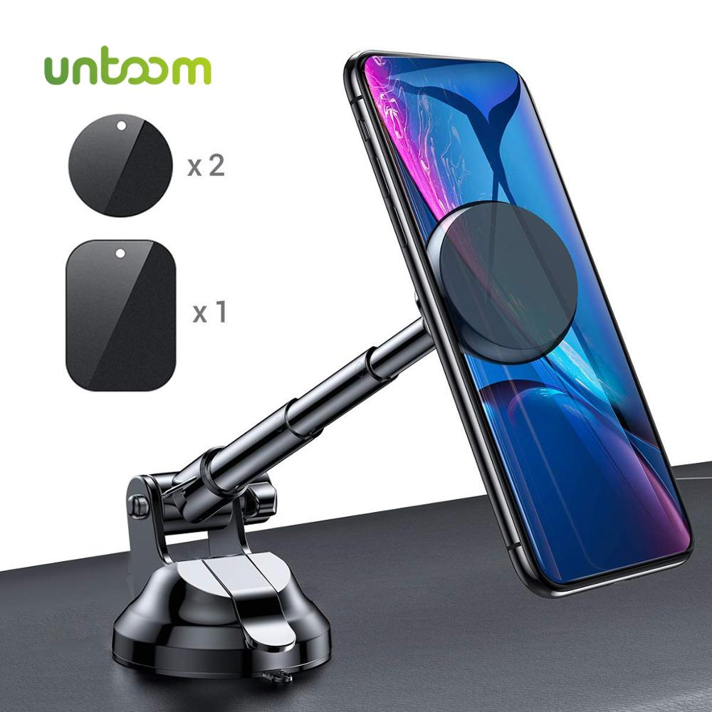 Magnetic Phone Holder Untoom Universal Car Phone Holder Strong Magnet Car Mount For Windshield And Dashboard For IPhone Samsung