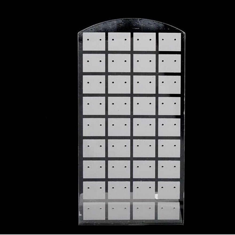 Новинка 3 размера модные серьги-гвоздики ювелирные изделия показать Пластиковые Ювелирные изделия Витрина металлическая подставка Органайзер держатель для ожерелья