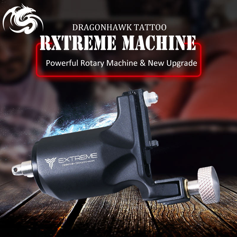 New Design Rotary Tattoo Machine Dragonhawk Tattoo Guns Strong Motor Tattoo Supply цена