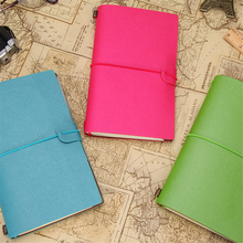 A6 Travel Journal Notebook Doki Book leather simple Cute Organizer And Journals Agenda Dotted Pages Lined