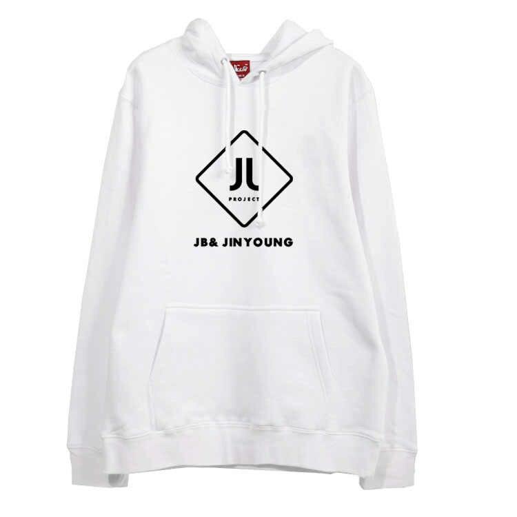 JJ проекта альбом got7 JB JR имя пуловер с рисунком флисовые толстовки с капюшоном для kpop вентиляторы на осень-зиму мужская Толстовка