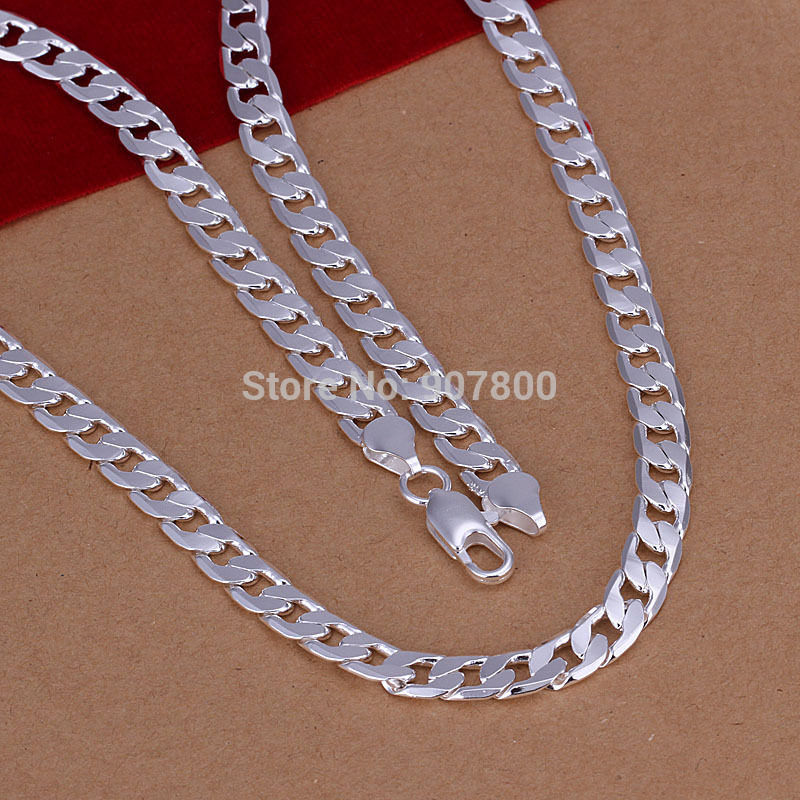 N047 low price wholesale top quality 6mm 20inches plated for Best mens jewelry sites