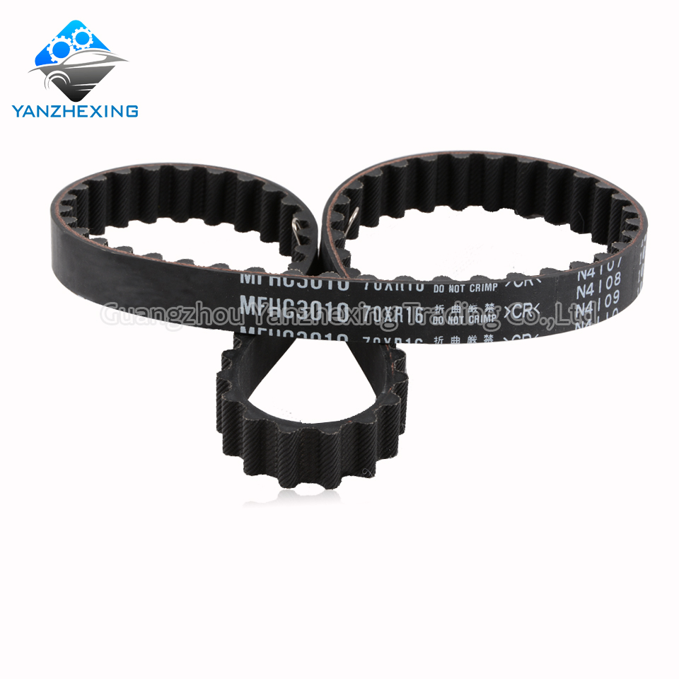 Buy Timing Belt Oemmfhc3010 70xr16 For Honda 2001 Mitsubishi Montero Accord Prelude Shuttle Odyssey Teeth70 Width16mm Length667mm From Reliable