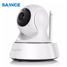SANNCE font b Wireless b font IP Camera Surveillance CCTV Security Wifi Smart IR Cut Night