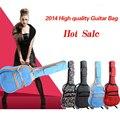 41'' Waterproof Guitar Backpack Bag Acoustic Electric Guitar Soft Bag With Shoulder Straps Pocket for guitar parts