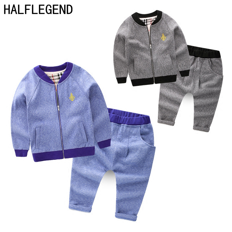 Children's clothing set boys Clothing Sets Boys Clothes for 6-7-8Years Kids Clothes boys outerwear Tops+Pants 2pcs for baby boys