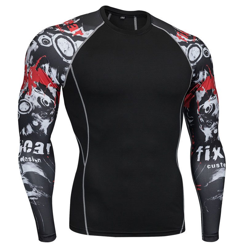 S-4XL Boxing Jerseys Fitness Dry Fit Muay Thai Running Tee Boxing Tiger Men Compression Gym MMA Training Rashguard T-Shirt men s shirt skin compression tights gym running mma base layer hot sale training clothes men cycling jerseys