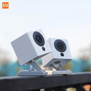 Image 1 - Xiaomi câmera de vigilância cctv mijia xiaofang 110 graus f2.0 8x1080 p zoom digital câmera ip inteligente wi fi sem fio camaras cam