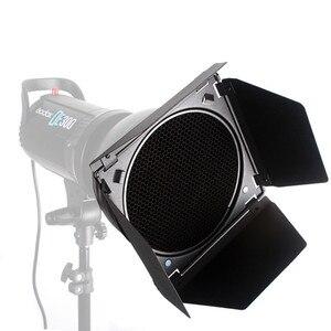Image 5 - Đèn Flash Godox BD 04 Kho Thóc Cửa + Tổ Ong Lưới + 4 Màu Bộ Lõi Lọc Cho Studio Ảnh Đèn Flash