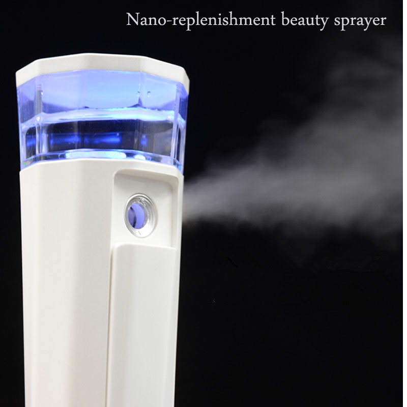 NewFace Sauna Spa Sprayer Beauty Hydrating Water Portable Facial Body Steamer Ultrasonic Humidifier Whitening Nano Face Cleaning spa эмульсия для увлажнения волос hydrating spa fluid 100 мл