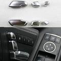 For Mercedes Benz E/GLK/ML/GL/GLS Car Interior Decoration Auto Seat adjustment button switch trim 6PCS/SET Wh