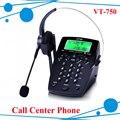 Профессиональный Call Center Dialpad Гарнитура Телефон с Dial Key Pad телефон с RJ9 разъем для гарнитуры RJ9 разъем для гарнитуры телефон