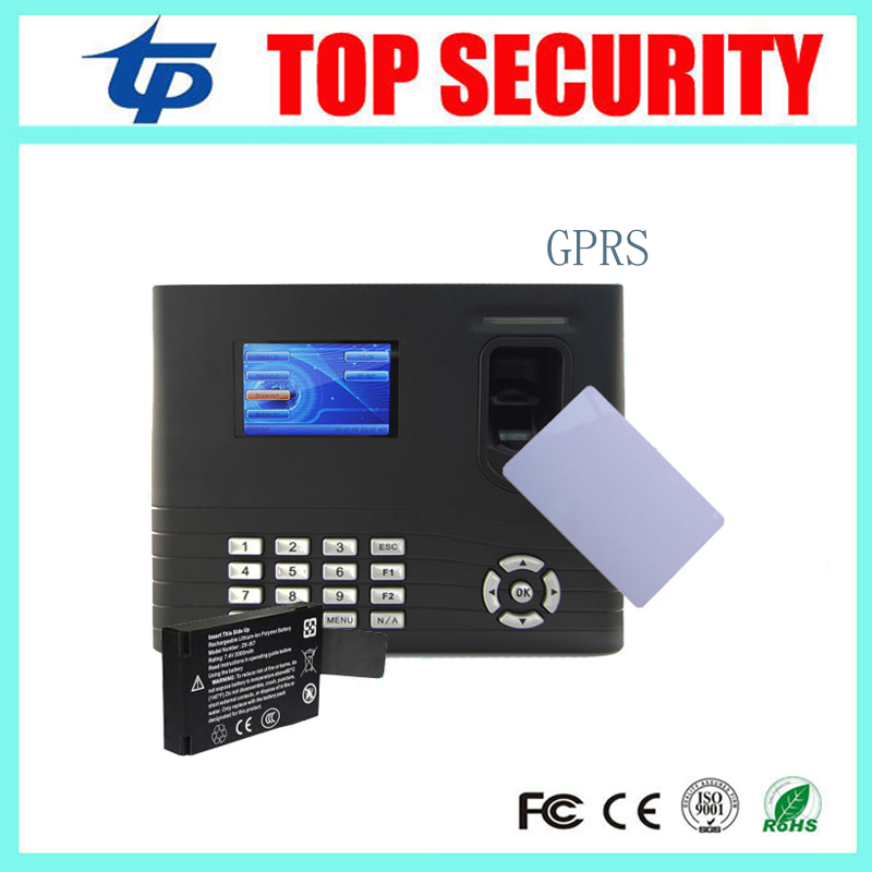 IN01 fingerprint time attendance and access control with back up battery smart MF card with GPRS