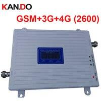 Triband GSM 2 г + 3G WCDMA + 4G BAND7 FDD LTE 4G booster 22dbm 65dbi ЖК дисплей дисплей 2600 мГц FDD усилитель повторитель 4G усилитель повторитель