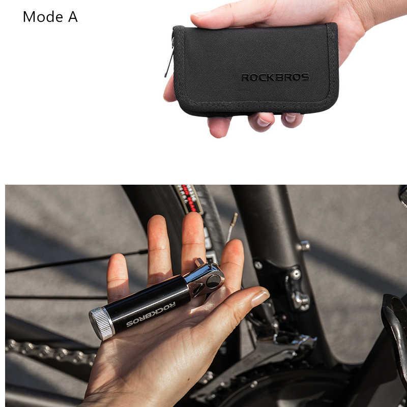 ROCKBROS cyclisme multifonctionnel vélo outils de réparation de vélo Kits clé dynamométrique vélo tournevis vtt vélo de route outils ensembles équipement