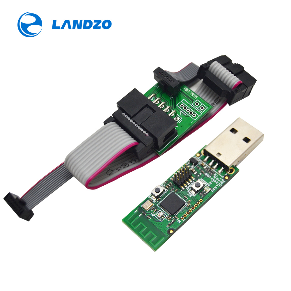 CC2531 Zigbee Sniffer Wireless Board Bluetooth BLE 4.0 Dongle Capture Module USB Programmer Downloader Cable Connector