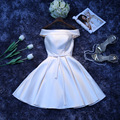 Livre tamanho feito Sob Encomenda ou cor curto Champange Vestidos de Baile 2016 vestidos de meninas de Festa de casamento Formal da dama de honra vestidos mais estilo